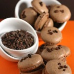 Reeses Revamped – {Chocolate and Peanut Butter Macarons}