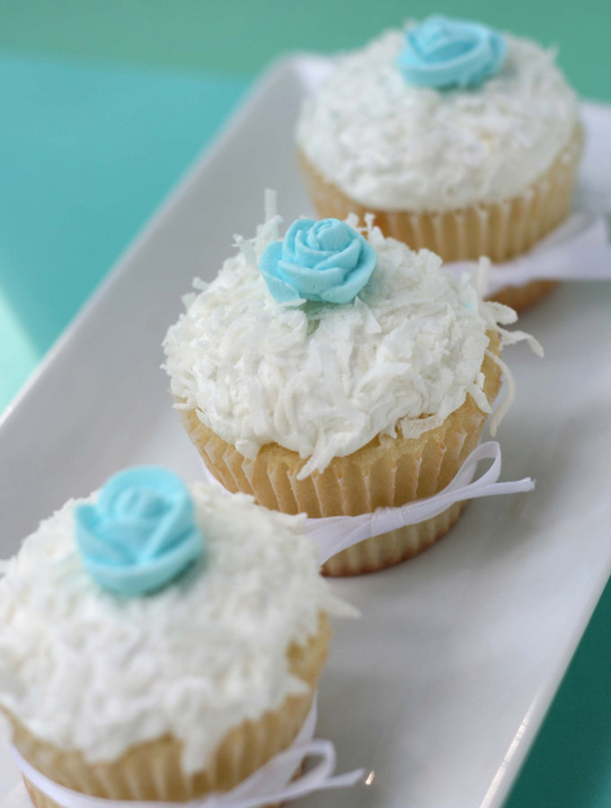 Almost – {Coconut Cupcakes}