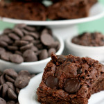 Burst – {Egg-Free Brownies}