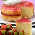 Calm – {Rhubarb Upside-Down Cake}