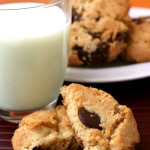 Left – {Brown Butter Chocolate Chip Cookies}