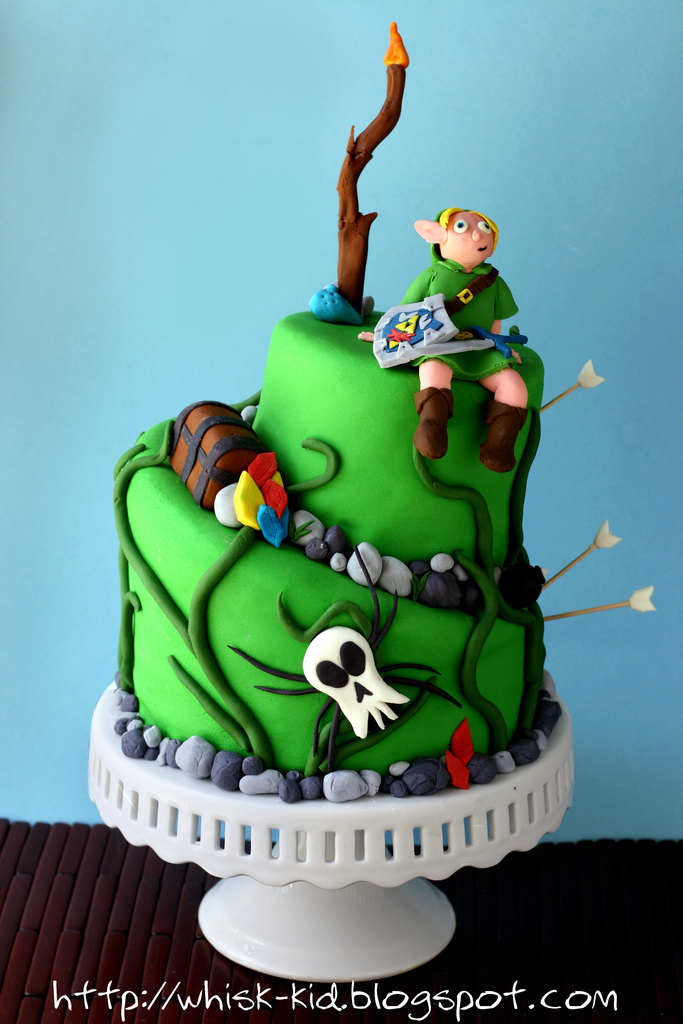 Play Legend of Zelda Birthday Cake Whisk Kid
