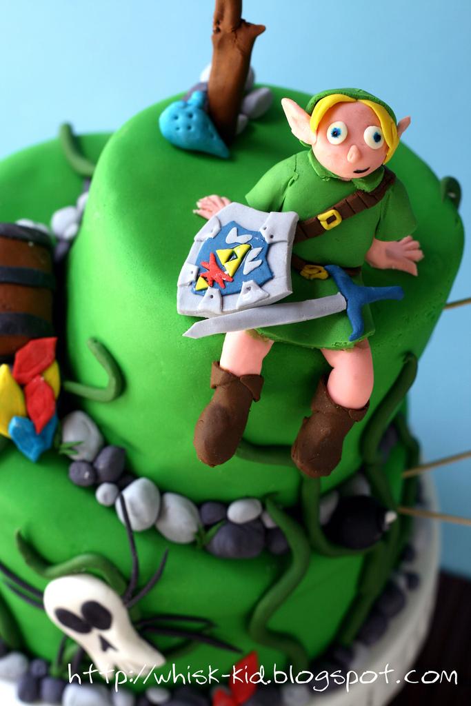 Enjoyable Play Legend Of Zelda Birthday Cake Whisk Kid Funny Birthday Cards Online Elaedamsfinfo
