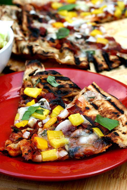 Comfort – {Grilled Pizza}