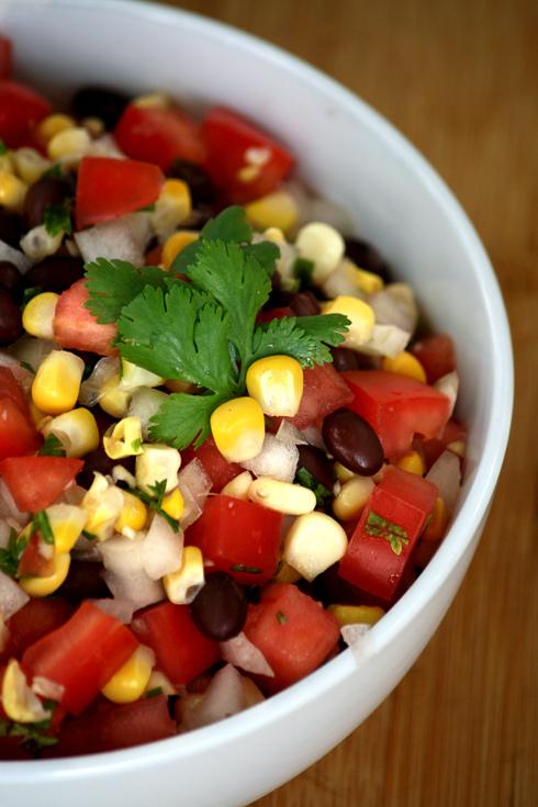 Turn – {Corn Salad}