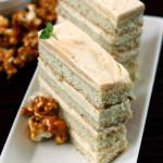 Settle – {Caramel Apple Mousse Cake with Caramel Corn}