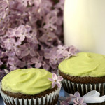 Green – {Vegan Chocolate Avocado Cupcakes}