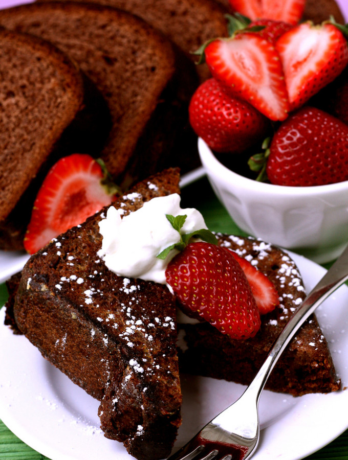 Across – {Chocolate Brioche French Toast}