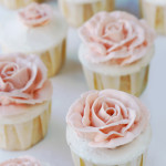 Babble – {Grapefruit Cupcakes with Honeyed Italian Meringue Buttercream}