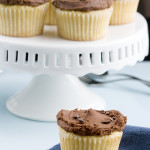 Slick – {Browned Butter Cupcakes with Chocolate Buttercream}