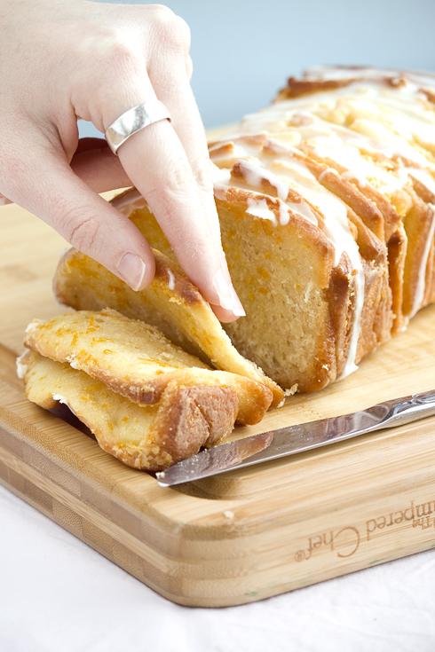 Prof D – {Orange Pull-Apart Bread}