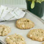 Swim – {Crispy Salted White Chocolate Oatmeal Cookies}