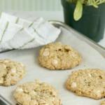 Swim – {Crispy Salted White Chocolate Oatmeal Cookies}