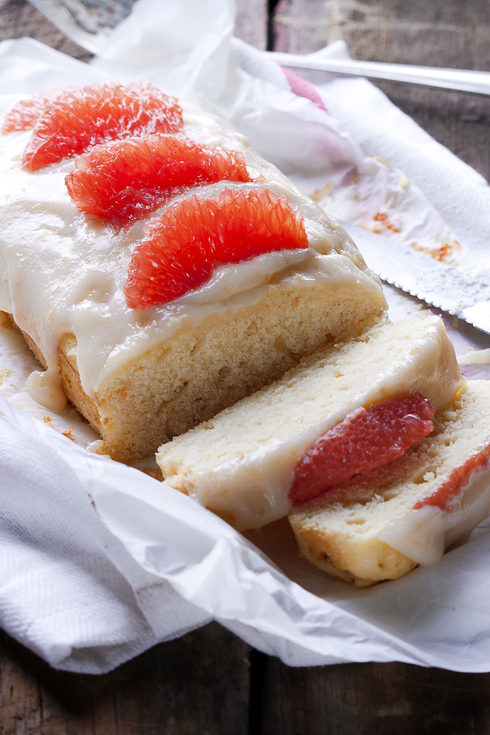 Calm – {Grapefruit Cake}