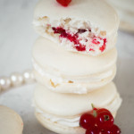 Late – {Coconut, Almond and Currant Macarons}
