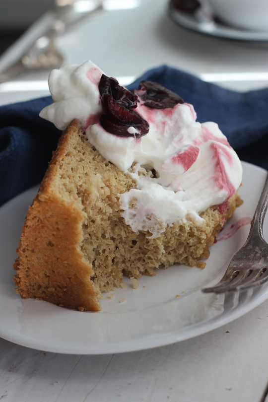 Guest post on Raspberri Cupcakes – {Coffee Cloud Cake}