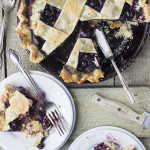 Window – {Blueberry Pear Pie}