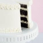 Think – {Chocolate Cake with Vanilla Italian Meringue Buttercream}