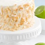 Two – {Piña Colada Cake}