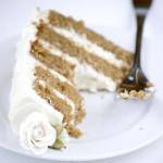 Twenty – {Chai Cake with Honey-Ginger Cream}