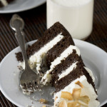 Listen – {Chocolate Coconut Milk Cake with Coconut Buttercream}