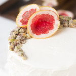 One Fell Swoop – {Roasted Grapefruit and Grapefruit Candied Pistachio Cake}