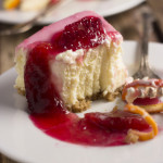 Stay – {Blood Orange Cheesecake}