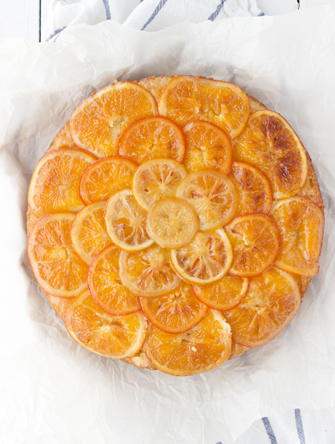 Need – {Ricotta & Citrus Upside Down Crumb Cake}