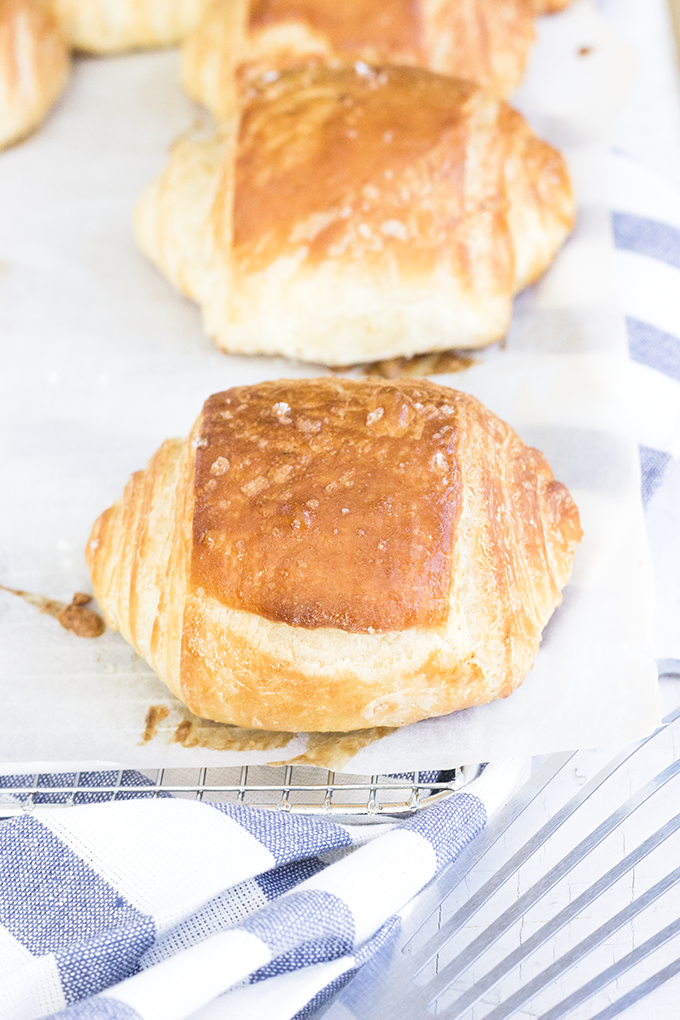 Bacon Fat Croissant - Whisk Kid