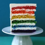 Say it with Cake – {Super Epic Rainbow Cake}