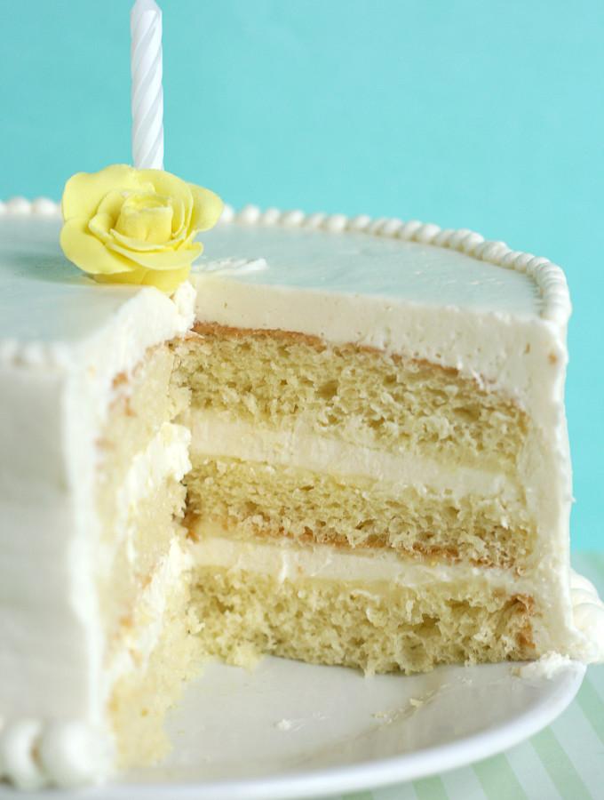 Nineteen – {Lemon Chiffon Cake}