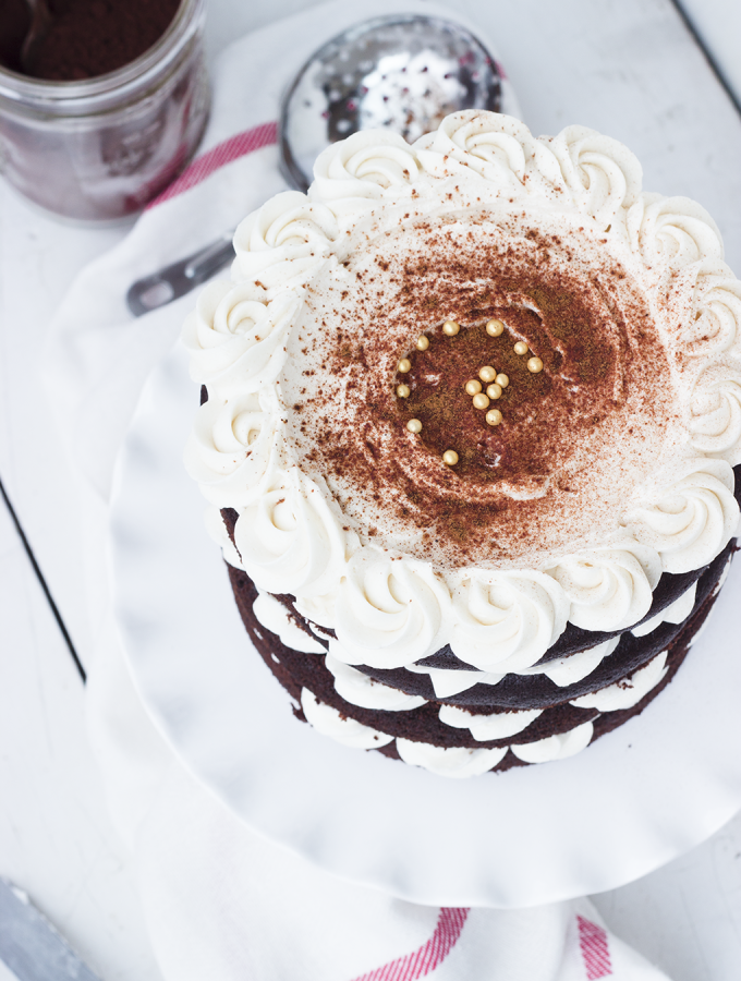 Party – {Mexican Spice Horchata Cake)