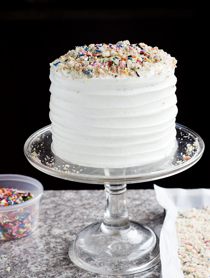 Celebration – {Momofuku Milk Bar Birthday Cake}