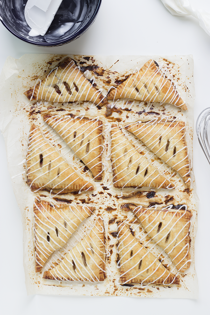 Spiced Pear and Fig Turnovers - Whisk Kid