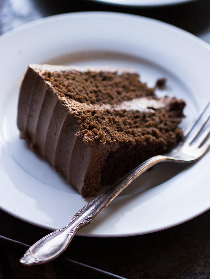 Would it Help? {Chocolate Chile Cake with Chocolate Avocado Buttercream}