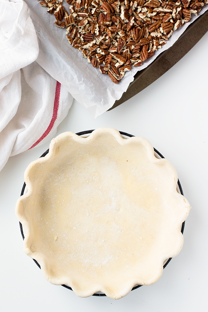 Bourbon Chocolate Pecan Pie - Whisk Kid