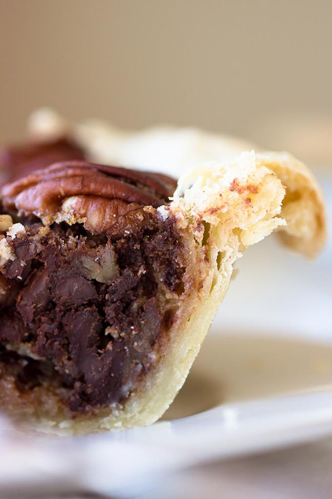 Bourbon Chocolate Pecan Pie - Whisk Kid